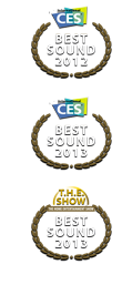 THE POINT MKII BEST SOUND AWARD, CES 2012 Las Vegas